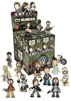 Which collectible vinyl figure will you get from Edition 4 of Funko's The Walking Dead mystery minis? Each single box includes a random figure from AMC's The Walking Dead. Walking Dead Figures, Walking Dead Characters, Amc Walking Dead, Walking Dead Series, Fear The Walking Dead, Funko Pop, Vinyl Figures, Action Figures, Pop Figures