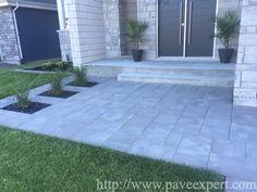 Bordures et trottoirs - Pavé Expert Patrick Marchand Garden Architecture, Decoration, Deck, Yard, Patio, Landscape, Outdoor Decor, Stones, Home Decor