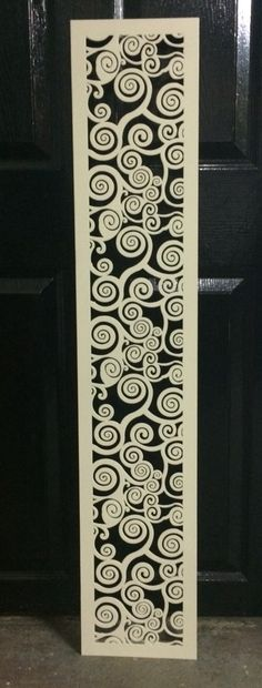 Metal laser cut vent screen