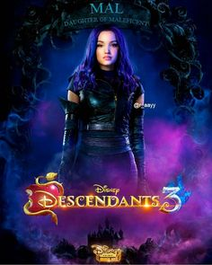 Watch Descendants 3 for free - The Descendants, Descendants Characters, Descendants Costumes, Dove Cameron Descendants, Disney Cinema, Walt Disney, Disney Love, Cameron Boyce, Soundtrack