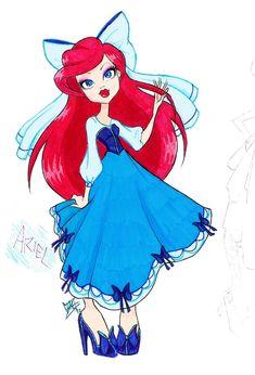 MH Disney: Ariel 2 by Xibira.deviantart.com on @deviantART