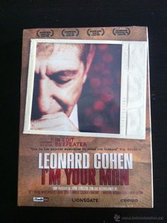 I'M YOUR MAN- LEONARD COHEN - 99 MINUTOS + EXTRAS. DVD. IN-EDIT BEEFFEATER