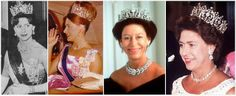 The Poltimore Tiara worn by Margaret, the Queen's sister.  It was later sold at auction to pay for inheritance tax, by her children.