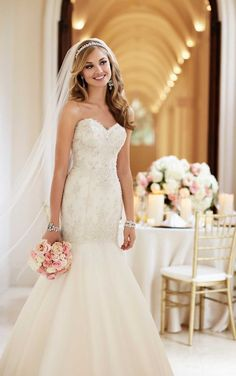 6107 Romantic Wedding Dress by Stella York