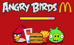 Mcdonalds Angry Birds