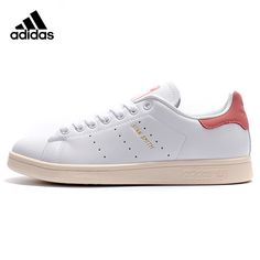 6e171ad70252c8 Authentic Adidas Clover STAN SMITH Men Women Leather Skateboarding Shoes PU  Lightweight Breathable Unisex Flat Sports
