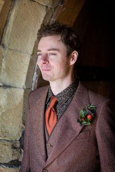 tweed for an autumn wedding