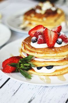 Eat away your Sunday blues with these delicious pancakes... They'll make you forget that Monday is approaching.