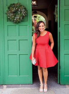 Whether you're headed to a fancy soiree or a low-key dinner, take a cue from these New Orleans tastemakers to inform your holiday dress code.   Cocktail Party Worn By: Jazz singer Robin...