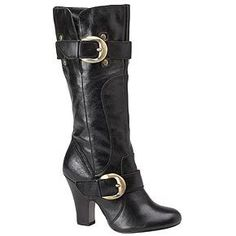 These Naughty Monkey Haute Rocker Black Boots look similar to Sarah Palin's Cole Haan Boots. And we know Sarah Palin is a Naughty Monkey fan. So maybe Naughty Monkey is monopolizing on Sarah's fashion style? Either or, I'm liking their shoe flair! You can find Naughty Monkey Black Boots for the best price on Amazon. …