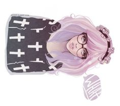 """""""Untitled #30"""" by theunikraken on Polyvore featuring art"""