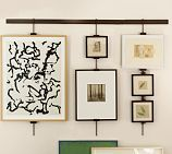 art work display system for kitchen #potterybarn
