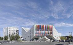 julien de smedt JDS architects euralille youth centre lille france designboom