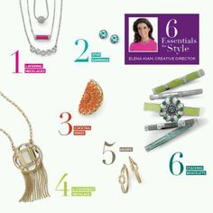 Get these 6 essentials in your jewelry box, and you'll be ready for anything! Www.liasophia.com/suebly for more info