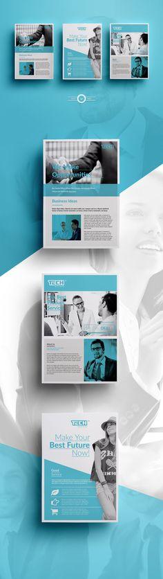 Ads Flyer by AlfianBrand™ on @creativemarket
