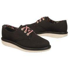 Women's Dr. Martens Pierce Black Canvas Shoes.com