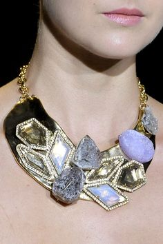 Badgley Mischka necklace for Daenerys, to match the color of her eyes.