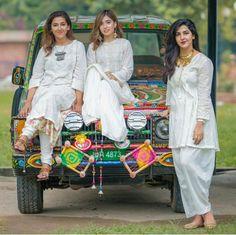 White is right Pakistani Couture, Pakistani Dress Design, Pakistani Dresses, Indian Dresses, Indian Outfits, India Fashion, Ethnic Fashion, Frock Fashion, Fashion Outfits