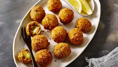 RECIPE: Mushroom and mozzarella arancini balls