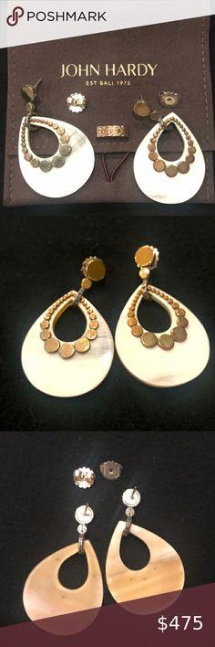 horn earrings Brown horn drop earrings oval jewelry fall jewelry horn jewelry distressed earrings oval earrings brown brown earrings