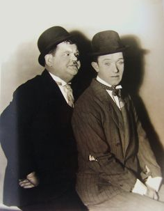 """indypendent-thinking: """" Stan Laurel and Oliver Hardy in (Lansing Brown) """" Laurel And Hardy, Stan Laurel Oliver Hardy, Great Comedies, Classic Comedies, Hollywood Actor, Hollywood Stars, Vintage Hollywood, Classic Hollywood, Bozo"""