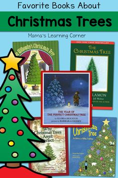 Looking for books about Christmas Trees? Browse through our favorites and find a few new-to-you selections to read with your children!