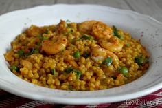 Nana's favorite Greek cooking recipes with photos and directions step by step. Orzo, Greek Recipes, Chana Masala, Superfood, Fried Rice, Food Inspiration, Risotto, Shrimp, Food And Drink