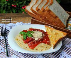 Pinoy-Style Sweet Spaghetti