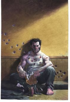 Wolverine by Esad Ribic....You can't kill Wolverine...You only make him angry.