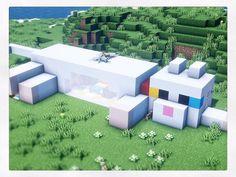 Minecraft Mansion, Minecraft Cottage, Easy Minecraft Houses, Minecraft House Tutorials, Minecraft Plans, Minecraft House Designs, Minecraft Decorations, Amazing Minecraft, Minecraft Tutorial