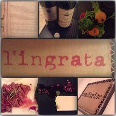 L'Ingrata #rimini #tartare #tagliata #scottona #cheesecake #melograno #fermavento #centurione #foodporn