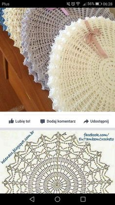 12 B – Salvabrani – SkillOfKing.Com (notitle) - Anna Matusiak Anna Matusiak notitle (notitle) Filet Crochet, Crochet Round, Crochet Home, Thread Crochet, Crochet Crafts, Crochet Stitches, Diy Crafts, Free Crochet Doily Patterns, Crochet Placemats