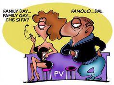 #IoSeguoItalianComics #Satira #Politica #FamilyDay