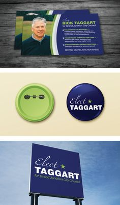 Simple campaign swag