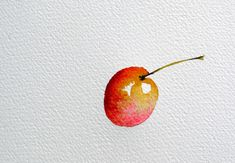 optimisation-pas-a-pas-aquarelle-astuce-ombre-07 Death, Easy Watercolor, Watercolor Painting, Canvases, Watercolors, Simple Subject, Painting Tutorials