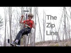 DIY How to make a fun Zip-Line for kids really cheap and reliable. Easy project. - YouTube
