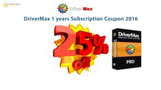 25% Coupon 2016– DriverMax  1 year subscription http://notecoupon.com/store/drivermax-coupon-codes