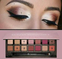 Beautiful makeup eye look (could be good for thanksgiving ) ~ Isa