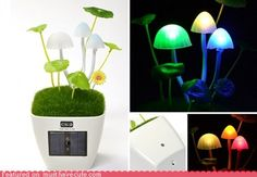 Shroomy Lamp