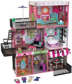 Kid Kraft Brooklyn's Loft Dollhouse Set