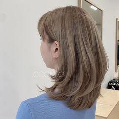 Medium Hair Cuts, Short Hair Cuts, Medium Hair Styles, Curly Hair Styles, Blonde Hair Korean, Korean Hair Color, Hair Style Korea, Clavicut, Haircuts Straight Hair