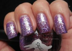 Hare Polish Amethystos Swatch And Review by pretty tough nails