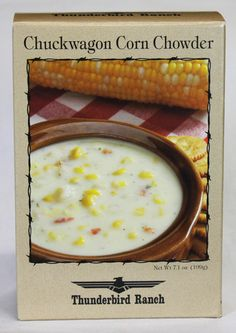 Chuckwagon Corn Chowder - New Ideas Healthy Crockpot Recipes, Gourmet Recipes, Soup Recipes, Cooking Recipes, Gourmet Foods, Cooking Kale, Potluck Recipes, Fish Recipes, Healthy Meals