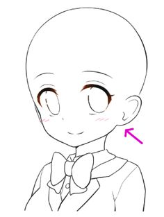 Marvelous Learn To Draw Manga Ideas. Exquisite Learn To Draw Manga Ideas. Drawing Heads, Drawing Base, Manga Drawing, Anime Drawings Sketches, Anime Sketch, Manga Anime, Anime Base Chibi, Photo Manga, Japon Illustration