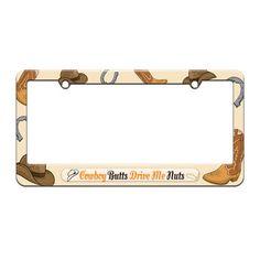 GOT DOBERMAN Metal License Plate Frame Tag Border Two Holes
