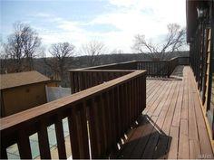 Upper level back deck...