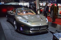 The exterior design of the Spyker C8 Preliator is all about aircraft, one of only 50 to be made this new car will debut at the 2016 Geneva Auto Show