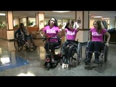Students Sit In Wheelchairs For 48 Hours To Promote Disability Rights - YouTube