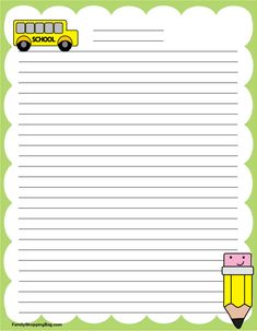 Stationary Printable Free, Cool Stationary, Stationary School, Free Printables, Letra Drop Cap, Letter To Teacher, Borders For Paper, Stationery Paper, Note Paper
