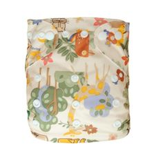 1 BABY AI2 PRINT RE-USABLE CLOTH DIAPER NAPPY+1 INSERT N18 From Alva Baby. These are the cheapest all-in-one diapers available.